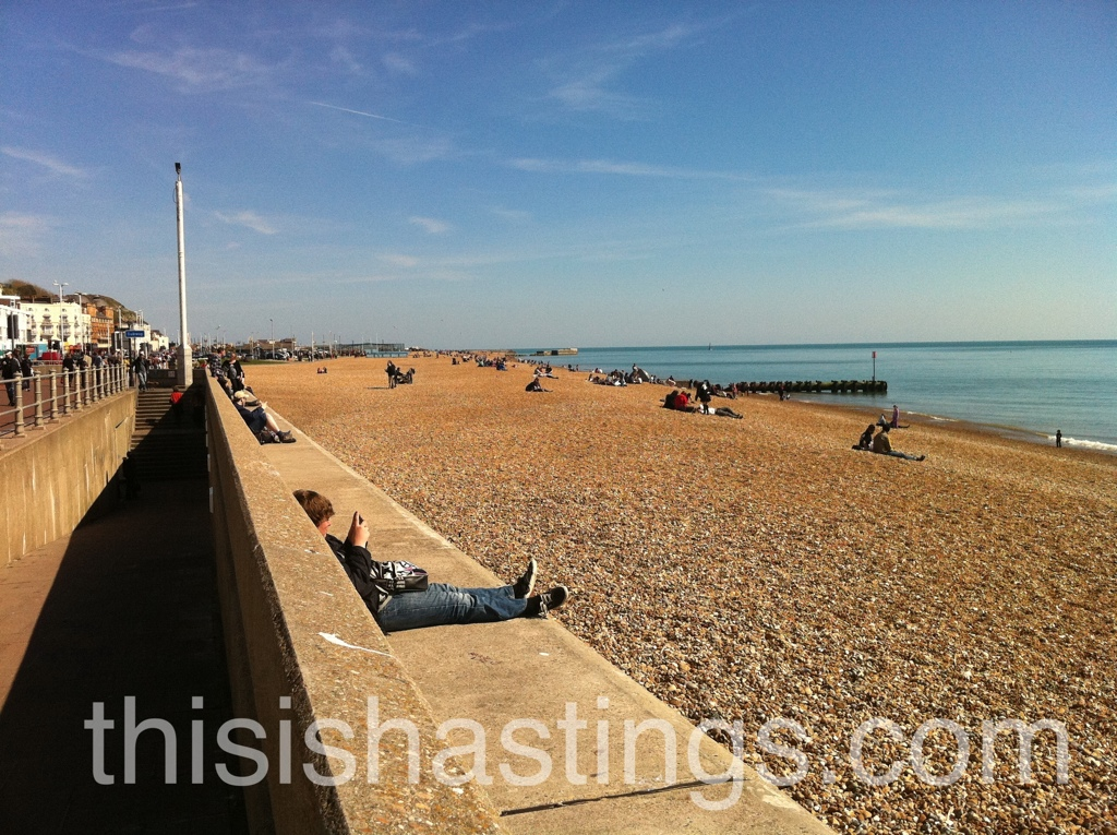This Is Hastings - Good Friday Seaside